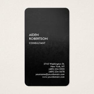 Exclusive Special Gradient Grey Modern Unique Business Card