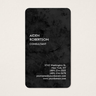 Exclusive Special Grey Modern Unique Business Card
