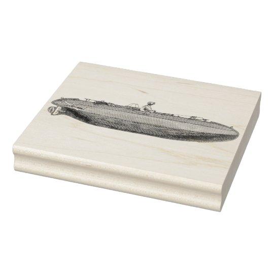 Exclusive Steampunk Submarine Vintage Art Stamp