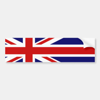 Exclusive Union Jack Bumber Sticker