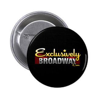 ExclusivelyBroadway.com 6 Cm Round Badge