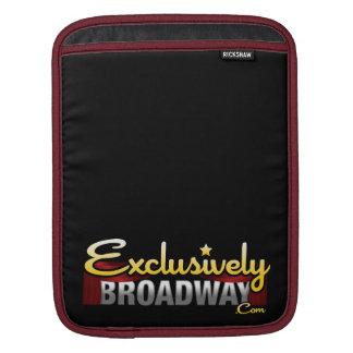 ExclusivelyBroadway.com iPad Sleeve