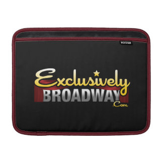 ExclusivelyBroadway.com MacBook Sleeve