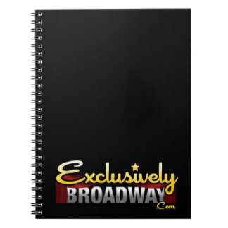 ExclusivelyBroadway.com Note Books