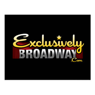 ExclusivelyBroadway.com Post Cards