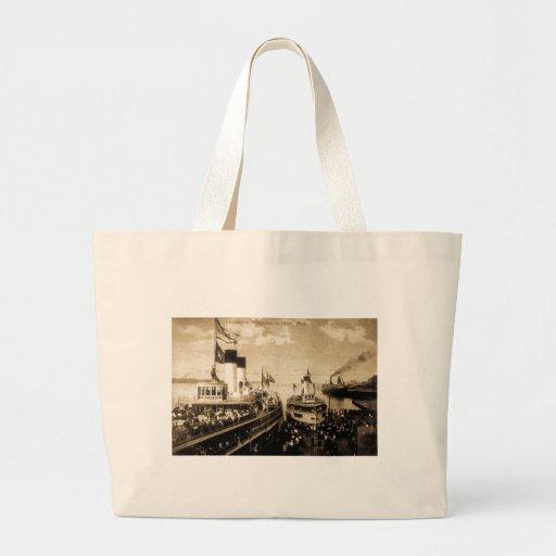 Excursion Steamers, Detroit, Michigan - Tashmoo Bag