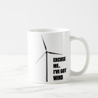 Excuse Me I ve Got Wind - Mug