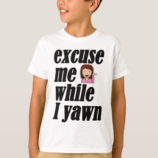 Excuse me while I yawn - sassy girl