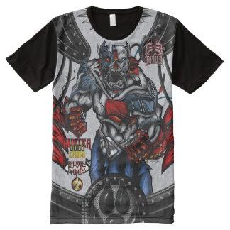 ExE Dogo Argentino - Hunter Cyborg MMA All-Over Print T-Shirt