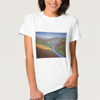 Exe Valley View by Janet Davies,Devon T-shirts
