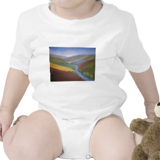 Exe Valley View by Janet Davies,Devon Tee Shirts