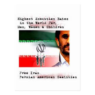 Execution in Iran Postcard