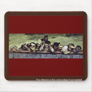Execution Of Emperor Maximilian Of Mexico,  By Man Mouse Pad