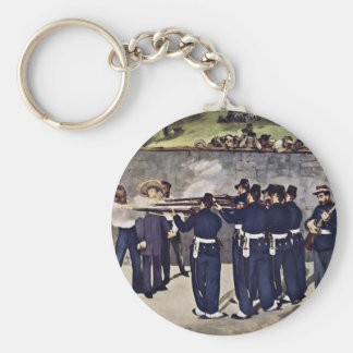Execution Of Emperor Maximilian Of Mexico Keychains