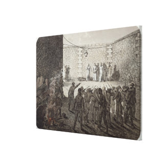 Execution of Hostages During the Commune, 1871 Canvas Print