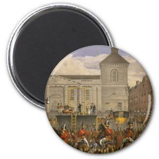 Execution of Robert Emmet in Thomas Street Dublin 6 Cm Round Magnet