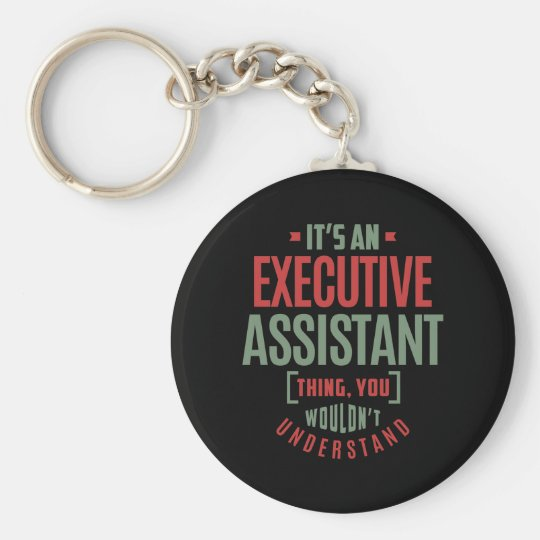 Executive Assistant Key Ring