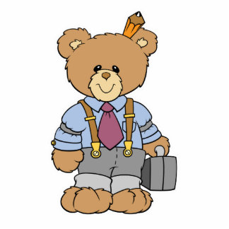 Executive bear cut outs