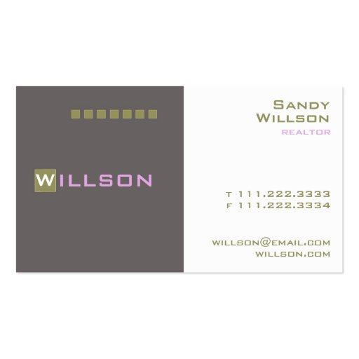 Executive business card template zazzle for Zazzle business card