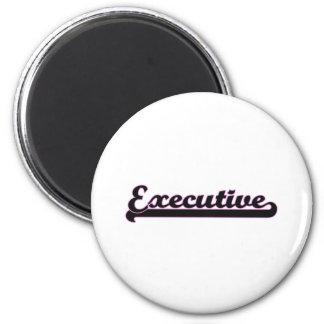 Executive Classic Job Design 6 Cm Round Magnet