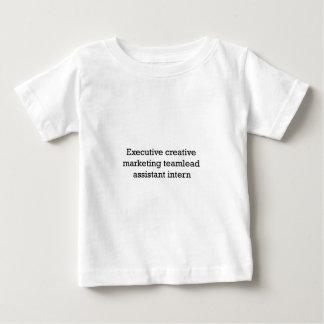 Executive Creative marketing Teamlead internally Baby T-Shirt