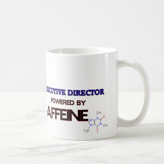 Executive Director Powered by caffeine Coffee Mug