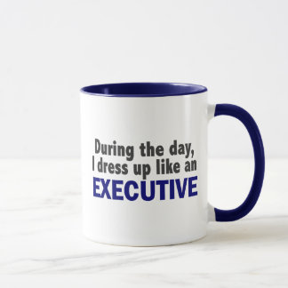 Executive During The Day Mug