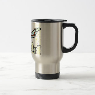 Executive Jet Travel Mug