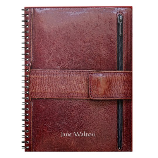 Executive Look Personal Organiser Effect Notebook