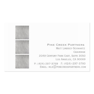Executive Pack Of Standard Business Cards