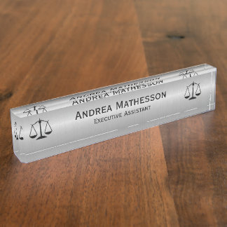 Executive Secretary Desk Name Plates