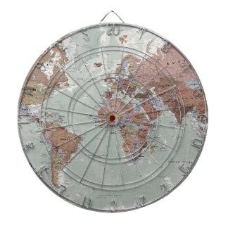Executive World Map Dartboard