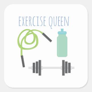 Exercice Queen Square Sticker