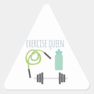 Exercice Queen Triangle Sticker