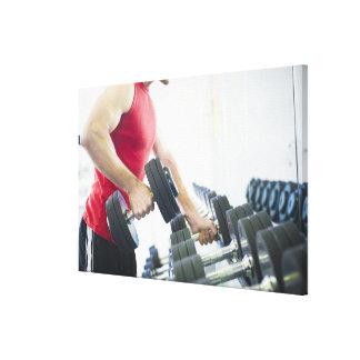Exercise 2 canvas print