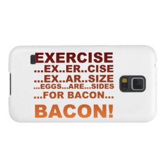 Exercise bacon case for galaxy s5