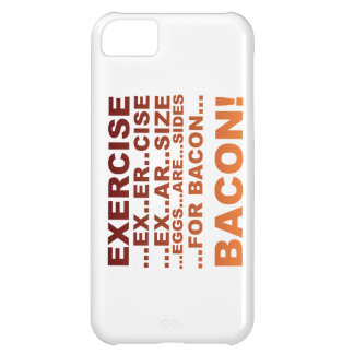 Exercise bacon iPhone 5C case