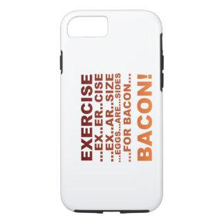 Exercise bacon iPhone 7 case