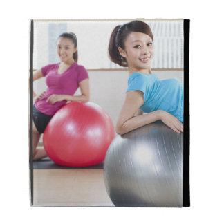 Exercise Balls iPad Folio Cases