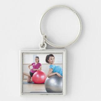 Exercise Balls Keychain