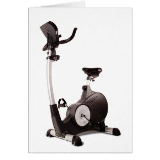 Exercise Bike Card