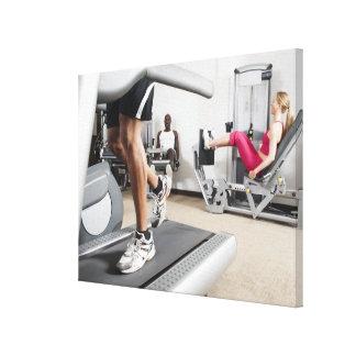 Exercise Canvas Print