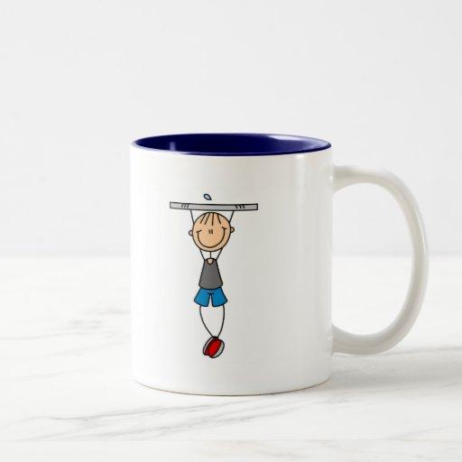 Exercise Chin Ups Tshirts and Gifts Mug