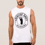 Exercise Daily...Walk with Christ Sleeveless Tee