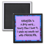 exercise is a dirty word joke