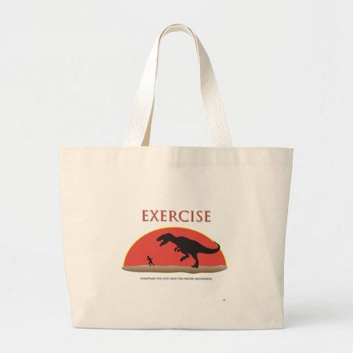 Exercise - Proper Motivation Tote Bag