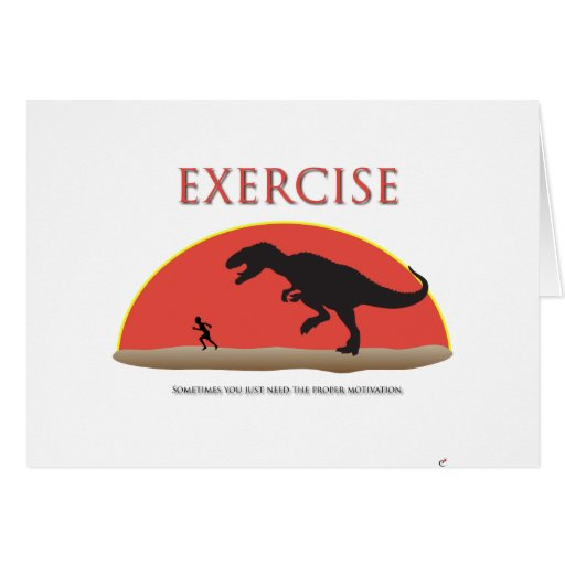 Exercise - Proper Motivation Card