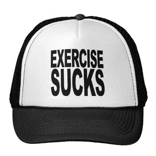 Exercise Sucks Mesh Hat