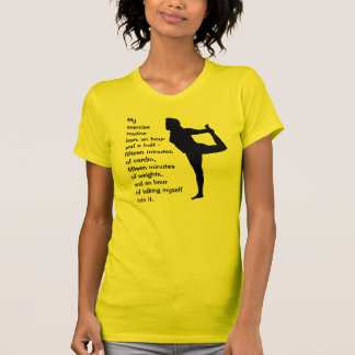 Exercise - talk into it tee