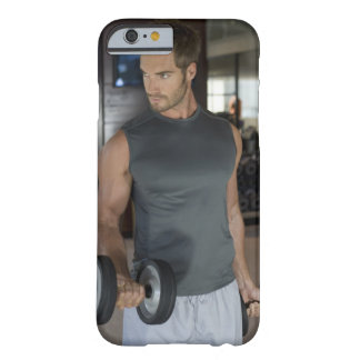 Exercising, Gym, Sport, Man, Body care, Day, Barely There iPhone 6 Case